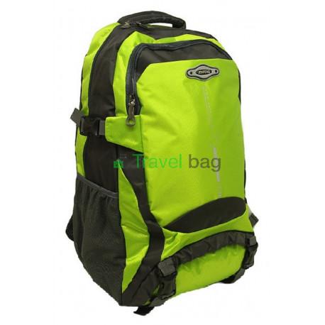 Рюкзак туристический 30 л JDXFENG 52х32х17 серо-зеленый