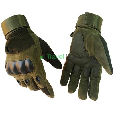 Перчатки тактические Oakley полнопалые L оливковые