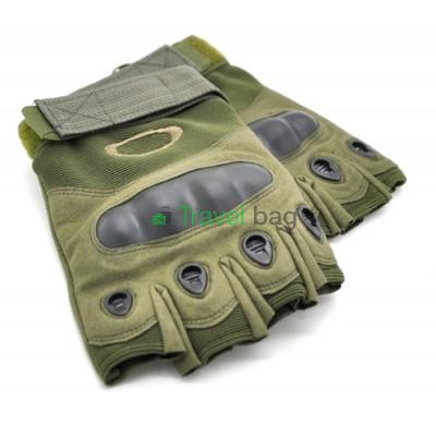 Перчатки тактические Oakley беспалые L оливковые