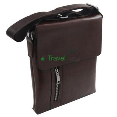 Сумка планшет EFENG 25*22*3 коричневая S54142