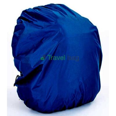 Чехол на рюкзак 30-50 л 2-сторонний черный-синий