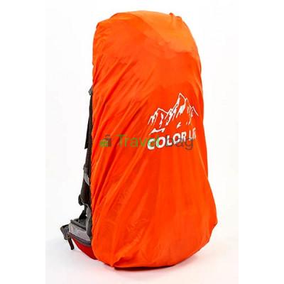 Чехол на рюкзак ZELART 60-75 л оранжевый