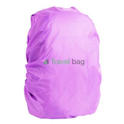 Чехол на рюкзак 30-50 л 2-сторонний черный-сиреневый