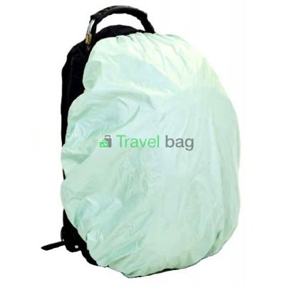 Чехол на рюкзак 30-50 л 2-сторонний черный-салатовый