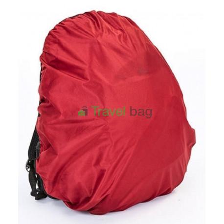 Чехол на рюкзак 30-50 л 2-сторонний черный-бордовый