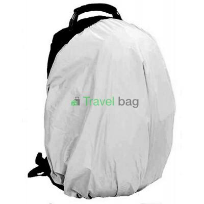 Чехол на рюкзак 30-50 л 2-сторонний черный-серый