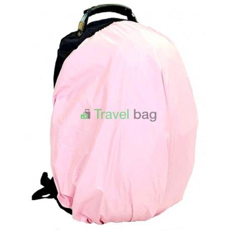 Чехол на рюкзак 30-50 л 2-сторонний черный-розовый