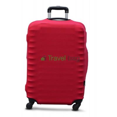 Чехол на чемодан дайвинг L красный