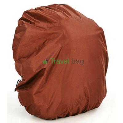 Чехол на рюкзак 30-50 л 2-сторонний черный-коричневый