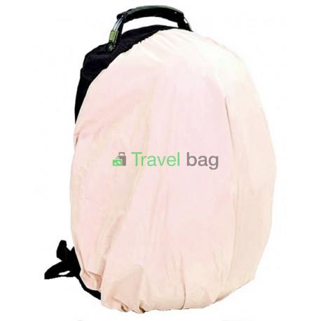 Чехол на рюкзак 30-50 л 2-сторонний черный-бежевый