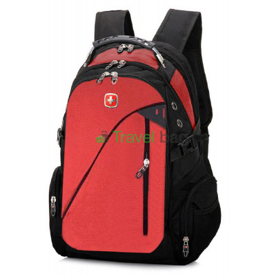 Рюкзак спортивный SWISSGEAR 7652R 30л 44x32x17 черно-красный