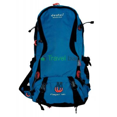 Рюкзак туристический DEUTER Mountain 65 л нижний вход синий