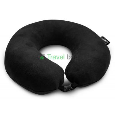 Подушка дорожная черная