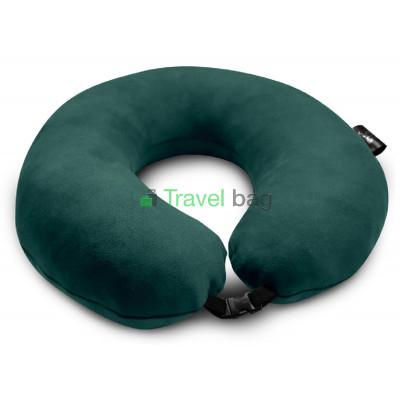 Подушка дорожная зеленая