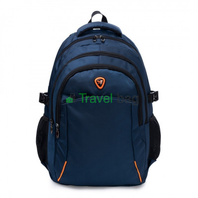 Рюкзак городской WINGS BP21 25 л темно-синий