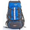 Рюкзак туристический каркасный COLOR LIFE 65(+13)х38х25 75л синий