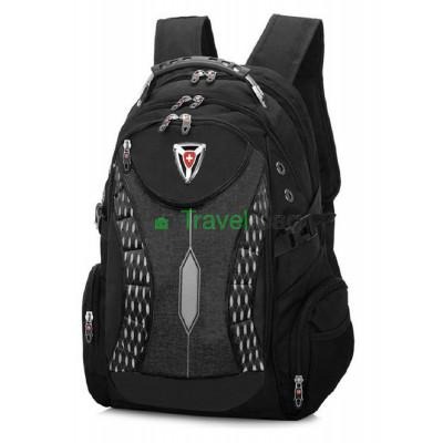 Рюкзак спортивный SWISSGEAR 30л 48x33x17 черно-серый