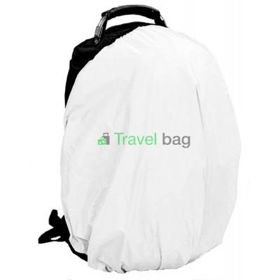 Чехол на рюкзак 30-50 л 2-сторонний черный-белый
