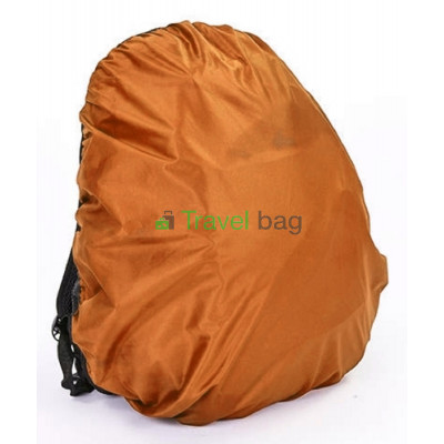 Чехол на рюкзак 30-50 л 2-сторонний черный-оранжевый