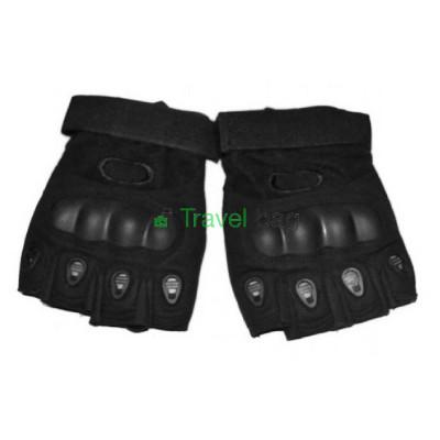 Перчатки тактические Oakley беспалые L черные