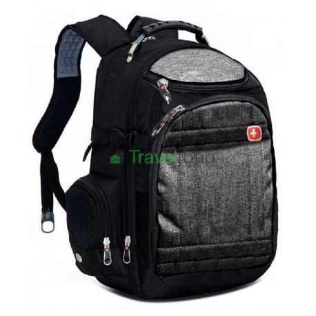 Рюкзак спортивный SWISSGEAR 559376B 30л 44x32x17 черный