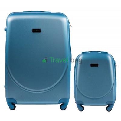 Комплект пластиковых чемоданов Wings (большой 75 см + малый 51 см)
