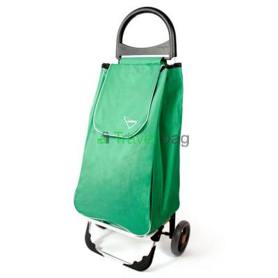 Сумка-тележка Aurora Portofino 50 л зеленая
