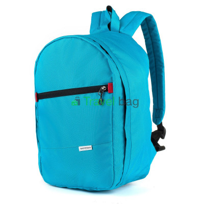 Рюкзак для ручной клади Wascobags 40х25х18 голубой