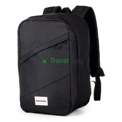 Рюкзак для ручной клади Wascobags 40х25х20 черный