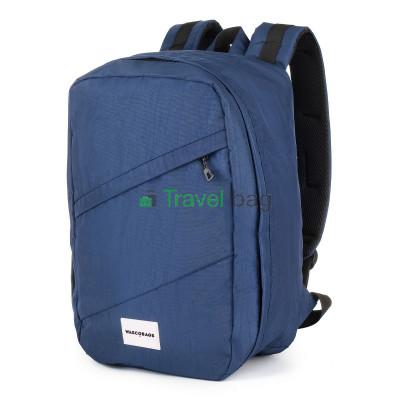 Рюкзак для ручной клади Wascobags 40х25х18 синий